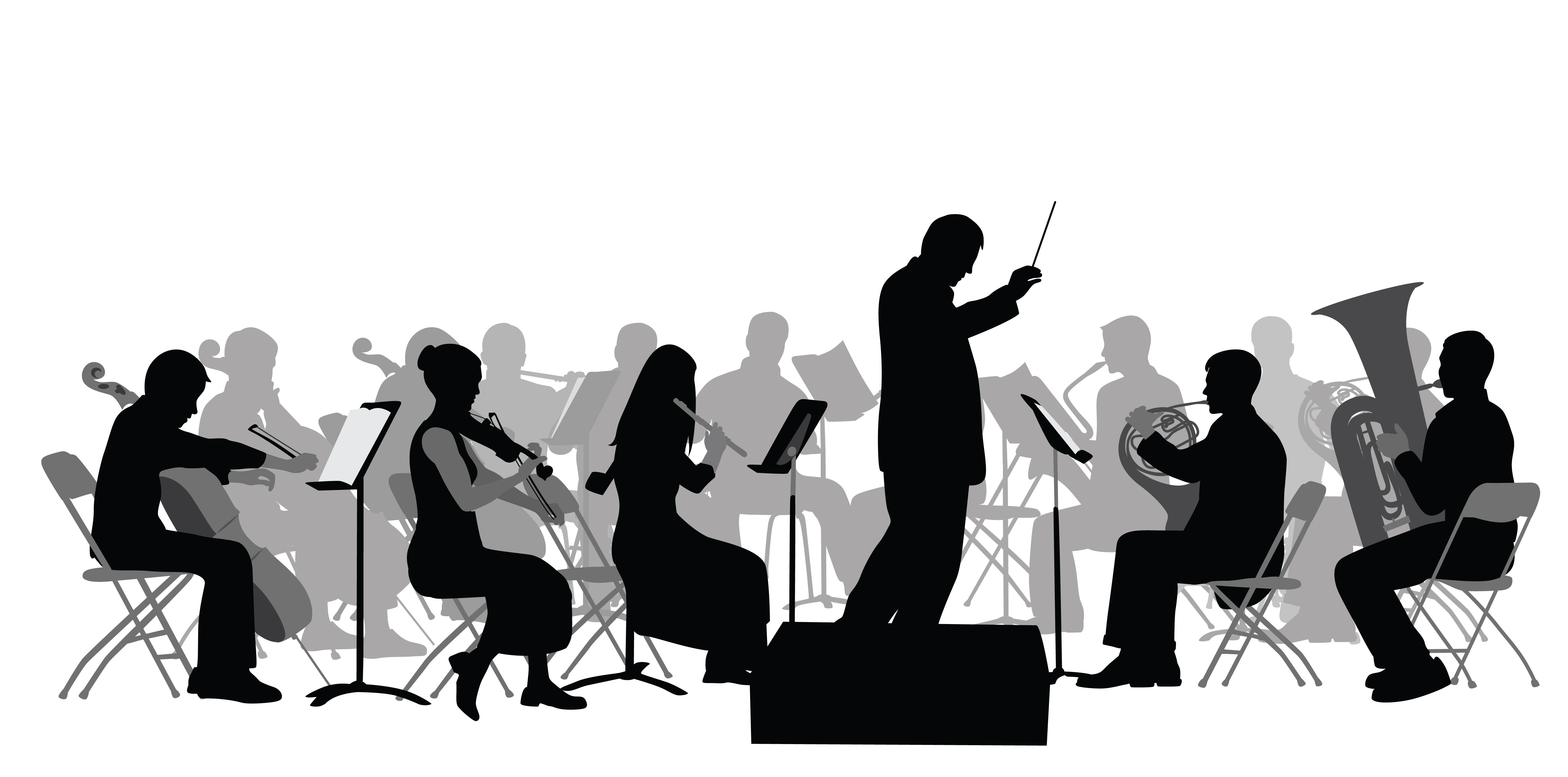 Stock image of a symphony.