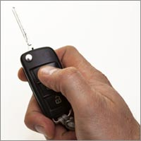 Remote control car key.